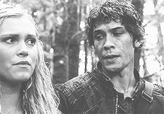 The 100. Bellamy Forcing himself to look away from Clarke. Well these hit you right in the feels!