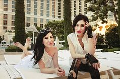 LOVE The Veronicas! Twin power!! :D