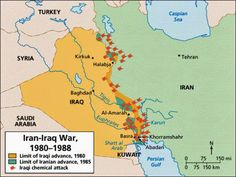 Iraqi Advancements and Losses, Iran Iraq War