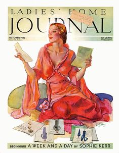 vintage ladies home journal magazine covers | Ladies' Home Journal 1932-10