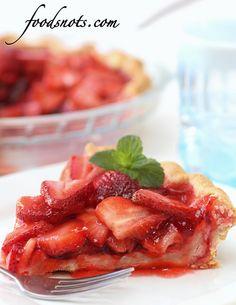 Classic Strawberry Pie, via Flickr.