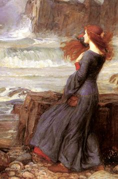 The New Age Review: Painting: The Tempest by John William Waterhouse