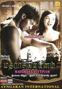 Madarasa Pattinam Tamil Movie Online - Arya, Amy Jackson and Nasser. Directed by A. L. Vijay. Music by G. V. Prakash Kumar. 2010 [U] w.eng.subs