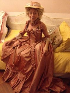 #1770s #dress #marieantoinette #style
