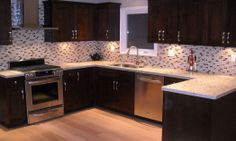 Mosaic #Kitchen #Backsplash Ideas