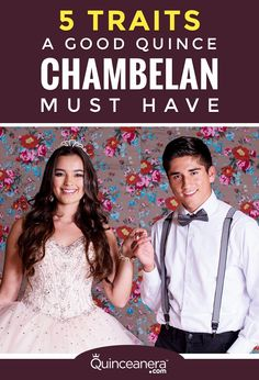 It takes more to be the best Quince chambelan you can be, take a look and see if you make the cut! - See more at: http://www.quinceanera.com/planning/5-traits-great-quince-chambelan-must/?utm_source=pinterest&utm_medium=social&utm_campaign=article-030216-planning-5-traits-great-quince-chambelan-must#sthash.tAVEyAmK.dpuf
