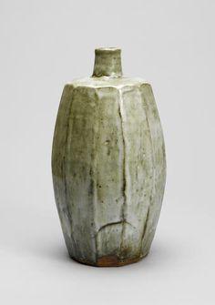 William Marshall stoneware vase