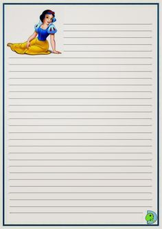 Disney Writing, Mickey Mouse, Lilo E Stitch, Planners, Snow White, Printable, Letters, Drawings Of Couples, Belle Drawing