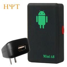 A8 Mini GSM/GPRS Tracker Global Real Tempo di GSM GPRS Inseguimento dispositivo Con Il Tasto SOS per Le Automobili Bambini Animali GSM/GPRS/GPS Tracking potenza