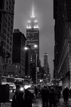 Empire State Building by Steve Swinnerton New York Minute, Dream City, City That Never Sleeps, Cool Backgrounds, Night City, Concrete Jungle, New York Travel, Urban Landscape, Dream Vacations
