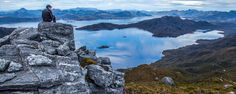 Looking over Lake Pedder from the Wilmot Range, Tasmania, Southwest National Park (Credit: Credit: Dan Broun)