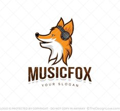 Branding for Music players, Music companies, online music apps, online mp3 player apps, music websites. #logo #logoart #logodesign #logodesigner #business #startups #branding Online Music Apps, Music Websites, Design Shop, Logo Design, Fox Logo, Stationary Design, Logo Maker, Business Card Logo, Startups