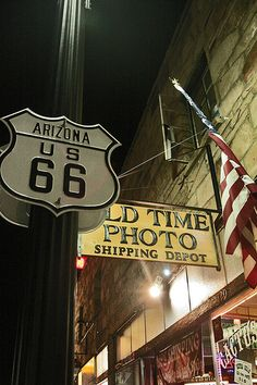 Old Time Photo on Route 66 in Arizona.  Photo credit by Daniela Patane on Flickr.