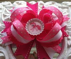 My Little Pony Hair Bow by HeadsUpBowtique on Etsy, $4.50
