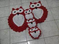 Resultado de imagem para capa de máquina de lavar roupa de crochê