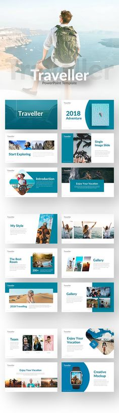 Free Traveller Template - RRGraph Design Design Freebies