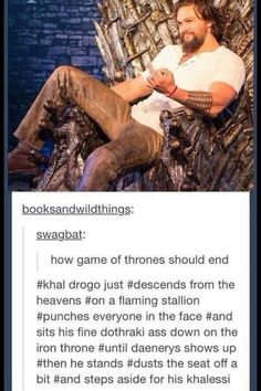 I don't even watch the show but I agree wholeheartedly.