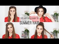 HELLO OCTOBER: The Lazy Girls Guide To: Summer Hair