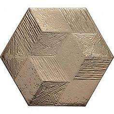 Gold Ore Tiles Tiles Elation Textured Hexagon Hexagon Tiles from Walls and Floors. Hexagon Wall Tiles, Wall And Floor Tiles, Tiles Texture, Gold Texture, Jakarta, Adhesive Tiles, Room Tiles, Gold Walls, Color Effect