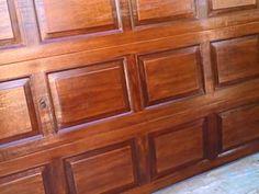 Diy faux wood garage door home decor pinterest for Faux paint wood grain garage door