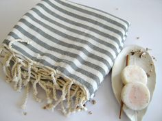 Turkish Towel Peshtemal beach towel hammam towel by TheAnatolian Spa Towels, Cotton Towels, Turkish Bath Towels, Luxury Towels, Yoga Towel, Best Gifts For Men, Unique Gifts, Decoration, Beach Towel