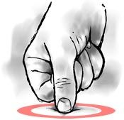How to find and massage Perfect Spot #10, a common trigger point in the arch muscles of the foot.