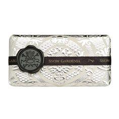 Mor brand soap: Snow Gardenia, via Nestdallas.