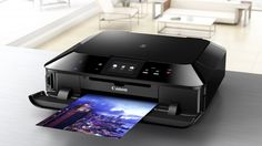 An affordable all-in-one photo printer with Wi-Fi connectivity and a touchscreen