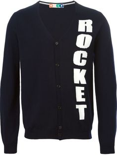 Shop MSGM rocket intarsia cardigan  in Twist'n'Scout from the world's best independent boutiques at farfetch.com. Shop 300 boutiques at one address.