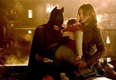Batman Begins - Katie Holmes - Christian Bale