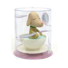 パピーがカップに入った「PupCup(パップカップ)」。 その名の通り、カップの中に子犬のパピーが入って、 遊園地のコーヒーカップのようにクルクル回りながら 動きます。とってもカワイイ動きで癒されます♪