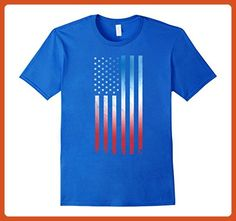 Mens Cool Red Blue White Flag Shirt 4th of July Women Kids Men Small Royal Blue - Cities countries flags shirts (*Partner-Link)
