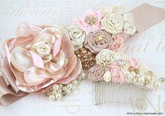 Gallery.ru / Фото #35 - Роскошные цветочные украшения и аксессуары от Maricel Tewari - Vladikana