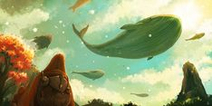 The Ocean Sky by *desmondWOOT on deviantART