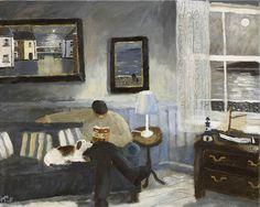 theindivisual          | A Classic  -  Gary Bunt British b.1957- Oil on...