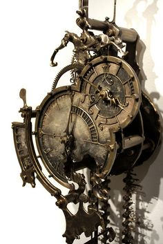 Eric Freitas - U.S. : Steampunk Exhibition at The Museum of the History of Science, The University of Oxford, U.K.