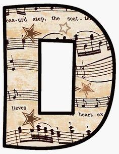 Oh my Alfabeto Musical. D for Debi