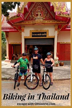12 steps to overcome your biking fears and conquer Thailand by bicycle! How to get over the terror and self doubt and do your first bike tour.   via @Ottsworld