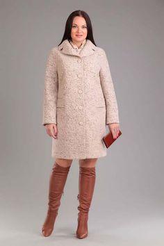 Пальто для полных женщин ведущих белорусских марок, осень-зима 2016-2017
