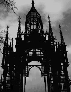 #Gothic ironwork   Goth and Gothic architecture    - image #2813713 by KSENIA_L on Favim.com