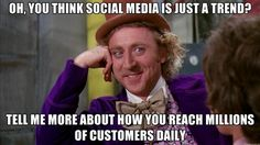 Social Media isn't at trend - aren't you reading this now on a social site? :)