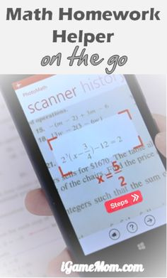 A free app that gives you answers and solutions to math problems instantly, and all you need do is to take a picture of the math problems. Great for math homework helper, or as a self learning tool when teachers or tutors are not available.