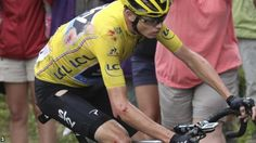 Britain's Chris Froome extends his overall lead of the Tour de France despite crashing on stage 19, which is won by Romain Bardet.