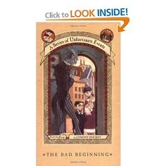 Lemony Snicket's A Series of Unfortunate Events (best for ages 10+)