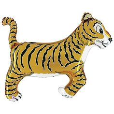 Tiger Foil Shaped Balloon