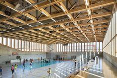Sports hall in Strasbourg