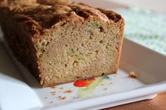 Zuchinni bread - this is a good recipe, though I will reduce the sugar to 2 cups next time.  Easy and delicious!
