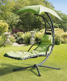 Look at this Green Steel Helicopter Swing Seat on #zulily today!