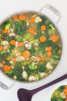 Tips For detox recipes - Detox dinner Detox Recipes, Soup Recipes, Healthy Recipes, Recipies, Epicure Recipes, Cooking Recipes, Epicure Steamer, Clean Eating Recipes, Healthy Eating