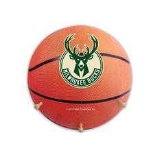 Milwaukee Bucks Basketball Coat Hanger, Multicolor